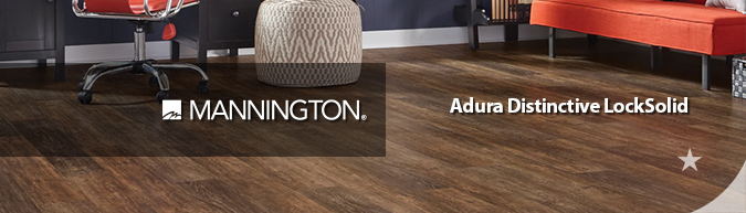 Mannington Adura Distinctive LockSolid flooring collection on sale at American Carpet Wholesale with huge savings! Save 30 to 60%