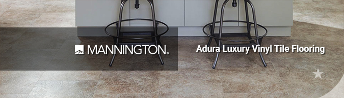 Mannington Adura Luxury Vinyl Tile flooring on sale at American Carpet Wholesale with huge savings! Save 30 to 60%