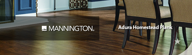 Mannington Adura homestead plank flooring on sale at American Carpet Wholesale with huge savings! Save 30 to 60%