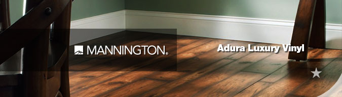 Mannington Adura luxury vinyl flooring collection