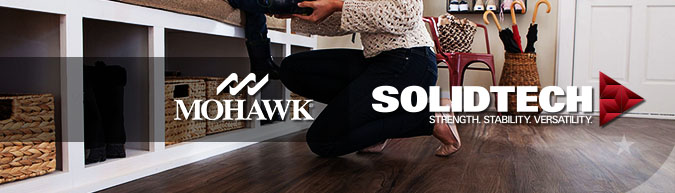 Mohawk Solidtech luxury vinyl waterproof plank flooring at huge discount prices