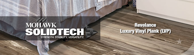 Mohawk Solidtech Relevance luxury vinyl waterproof plank flooring at huge discount prices