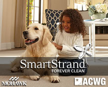 Mohawk smartstrand stain resistant carpeting at American Carpet wholesale