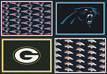 NFL TEAM SPORTS AREA RUGS FREE SHIPPING OFFICIALLY LICENSED