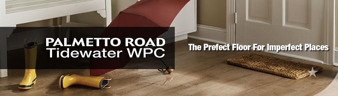 Palmetto road tidewater waterproof WPC Luxury vinyl flooring