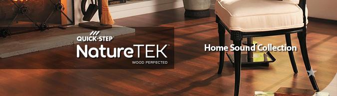 Quick Step Naturetek Home Sound Collection Laminate Flooring
