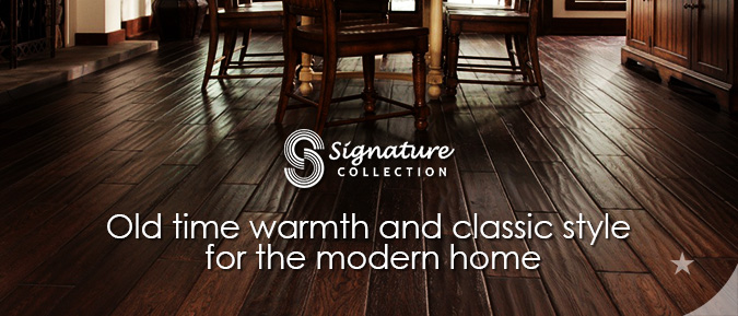 RA Siegel Signature hardwood flooring