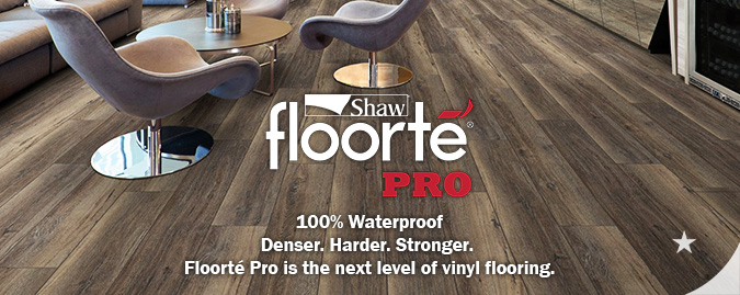 Shaw Floorte Pro waterproof multilayer flooring