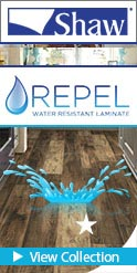 Shaw Repel Water Resistant Laminate flooring collection