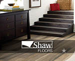 Shaw vinyl plank and tile flooring selections at american carpet wholesalers
