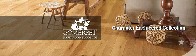Somerset Character Engineered hardwood flooring collection on sale at American Carpet Wholesale - Save 30-60%