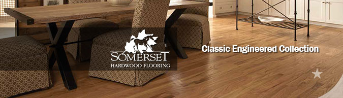 Somerset Classic Engineered hardwood flooring collection on sale at American Carpet Wholesale - Save 30-60%