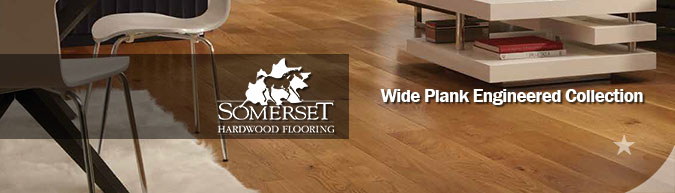 Somerset Wide Plank Engineered hardwood flooring collection on sale at American Carpet Wholesale - Save 30-60%