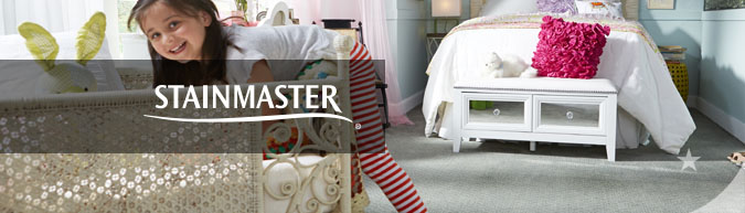 STAINMASTER® collection stain resistant carpet at savings from 30 to 60%