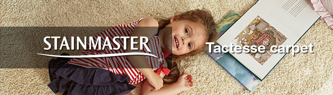 Stainmaster Tactesse collection stain resistant carpet at savings from 30 to 60%