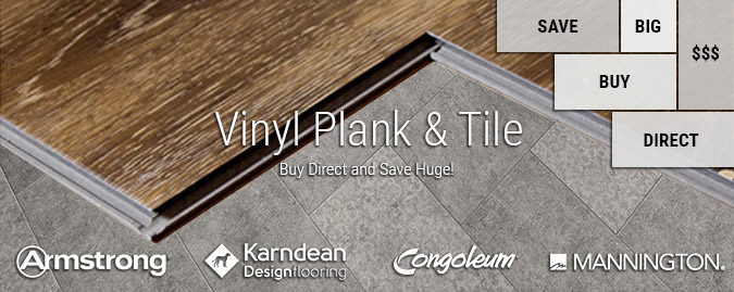 Luxury Vinyl Plank Tile Buy LVT LVP Direct Save - Congoleum flooring distributors
