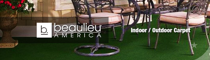 Beaulieu indoor & outdoor carpet at big savings! Buy Now & Save!