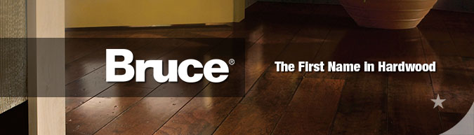 Bruce hardwood flooring collection on sale at American Carpet Wholesale with huge savings!