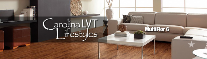 Carolina Lifestyles multiFlor-6 Luxury Vinyl Flooring collection on sale at American Carpet Wholesale with huge savings!