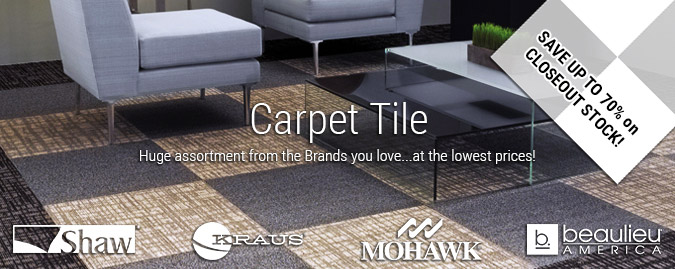 Carpet Tile Carpet And Discounted Flooring At Savings To - Bulk tile sale