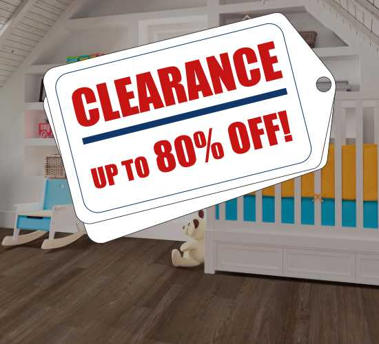 Shop our Clearance flooring solutions