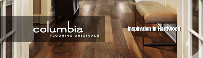columbia Premium hardwood flooring collection
