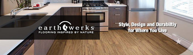 earthwerks waterproof WPC Luxury vinyl flooring