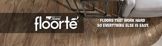 floorte Classico Plank waterproof wpc wood plastic composite flooring by shaw