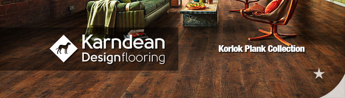 Karndean Korlok Collection Vinyl Plank Flooring on sale!