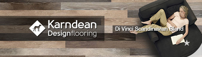 Karndean Da Vinci Modern Rustic Blend design flooring reclaimed salvage look scandinavian