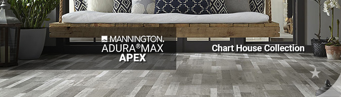 mannington adura max apex Chart House waterproof LVT multilayer flooring