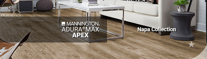 mannington adura max apex napa waterproof LVT multilayer flooring