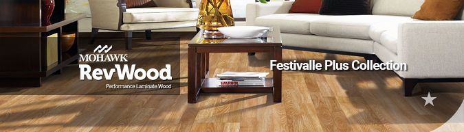 mohawk RevWood Festivalle plus Collection Laminate Wood flooring collection on sale
