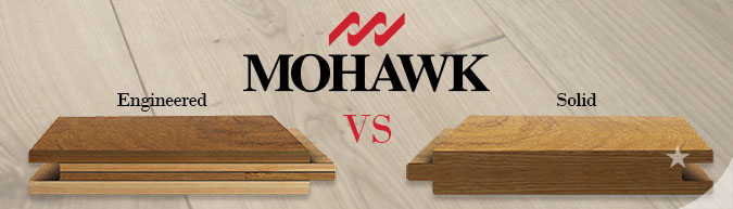 Featured Mohawk Engineered Hardwood Flooring
