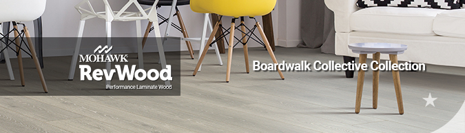 mohawk RevWood Boardwalk Collective Laminate Wood flooring collection on sale