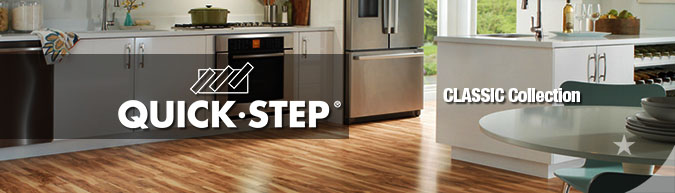 quick-step classic laminate flooring collection sale at American Carpet Wholesale with huge savings!