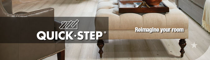 quick-step quality laminate flooring sale at American Carpet Wholesale with huge savings!