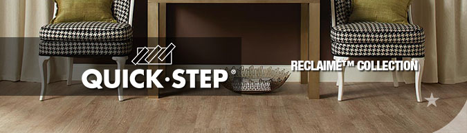 quick-step reclaime laminate flooring collection sale at American Carpet Wholesale with huge savings!