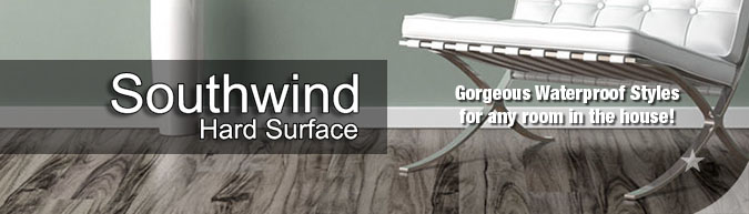 southwind hard surfaces wpc wood plastic composite flooring collection