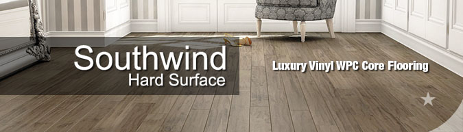 southwind hard surfaces Luxury Vinyl wpc wood plastic composite flooring collection