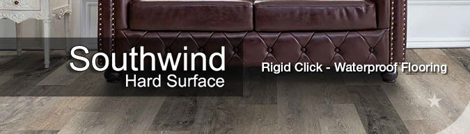 southwind rigid click hard surfaces wpc wood plastic composite flooring collection