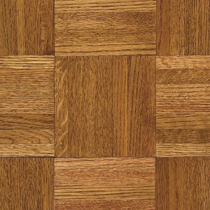 Urethane Parquet - Wood Backing Honey (Contractor/Builder Grade)