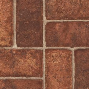Colonial Brick Armstrong Laminate Red
