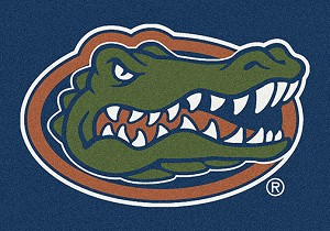 Florida Gators Team Spirit Rug Florida Gators