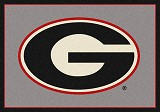 Georgia Bulldogs Team Spirit Rug