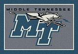 Middle Tennessee Team Spirit Rug
