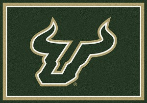 South Florida Bulls Team Spirit Rug South Florida Bulls
