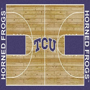 Texas Christian Horned Frogs Home Court Texas Christian Horned Frogs (Lane Color: Purple)