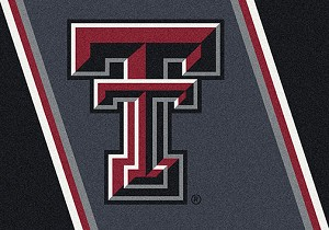 Texas Tech Red Raiders Team Spirit Rug Texas Tech Red Raiders