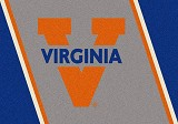 Virginia Cavaliers Team Spirit Rug